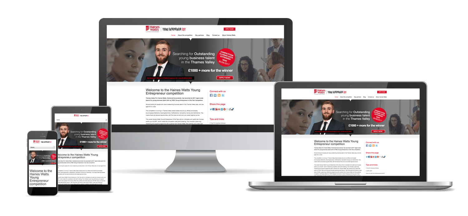 Websites Hampshire - Haines Watts