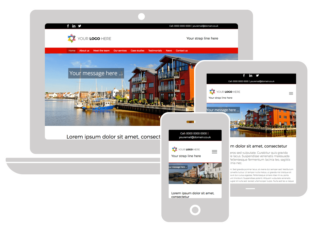 Neil Phillips Design - Off the shelf, pre-built websites - Prime